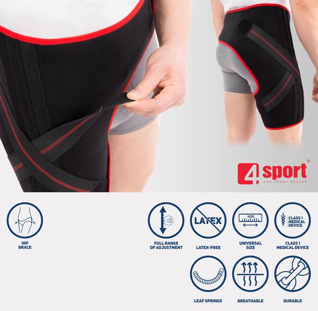 Universal sport hip brace AM-SB-06
