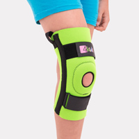 Donut knee brace with spiral boning FIX-KD-06