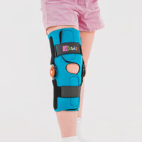 Pediatric wrap around knee brace FIX-KD-10