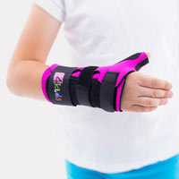 Thermoplastic wrist and thumb brace FIX-KG-06