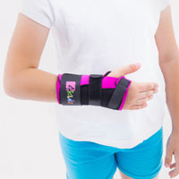 Thermoplastic wrist brace FIX-KG-07