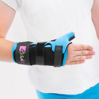 Pediatric wrist and thumb brace FIX-KG-08