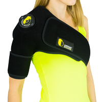 Ice cold therapy shoulder brace TB-02