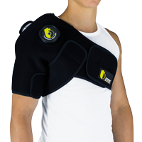 Ice cold therapy extended shoulder brace TB-03