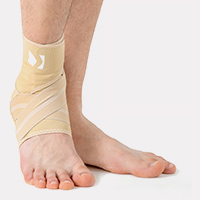 Ankle support EB-SS BEIGE