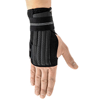 Wrist stabilization EB-N-02 BLACK MELANGE