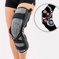 Lower limb support EB-SKL/2RA BLACK MELANGE