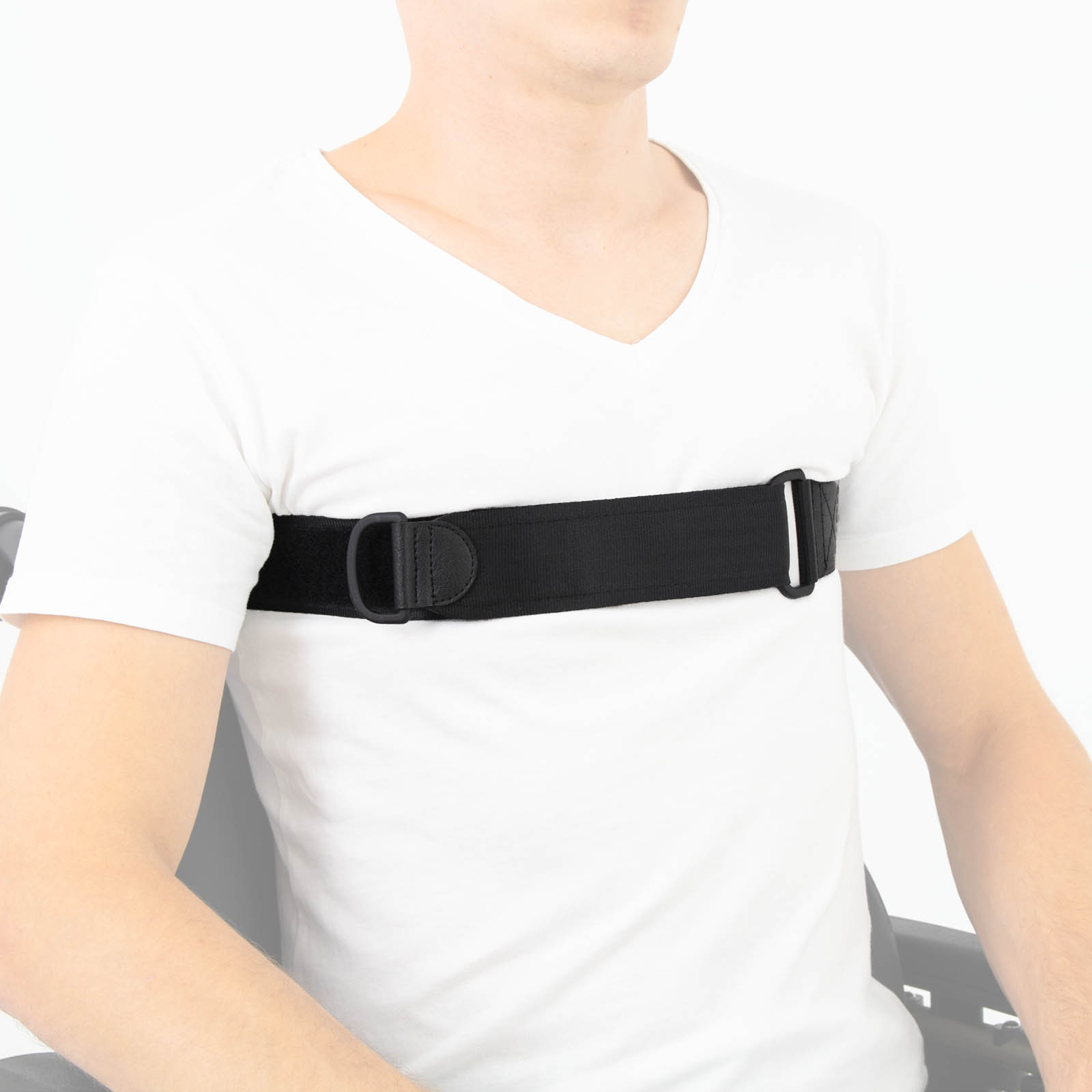 2-point chest belt with fastening support FP-04