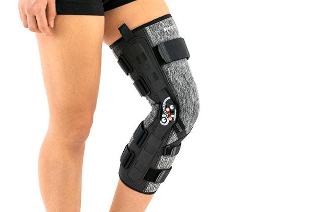 Lower limb support EB-SKL/2RA Black/White Flecks