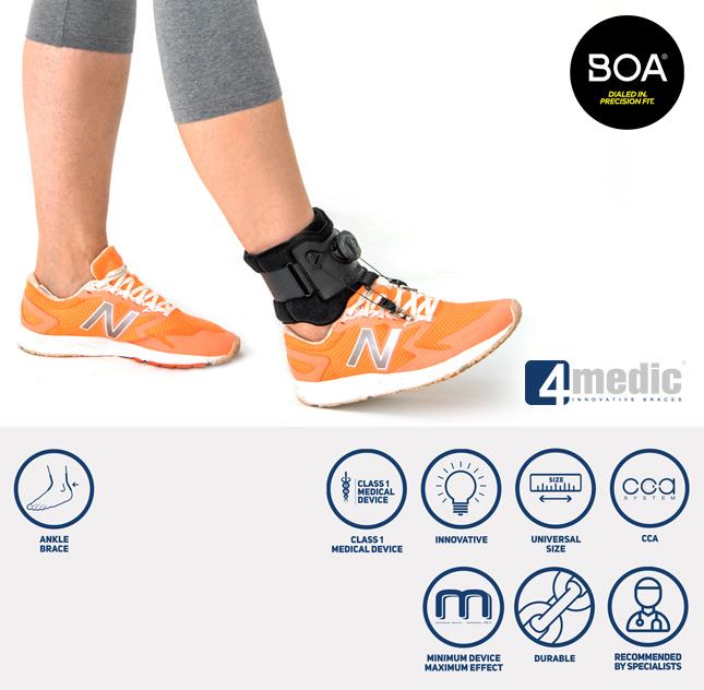 Foot drop brace AM-OSS-21/CCA