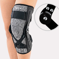 Lower limb support EB-SK/1R BLACK MELANGE