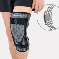 Lower limb support EB-SK/A BLACK MELANGE