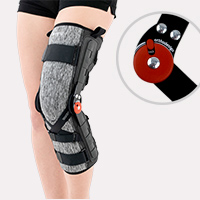 Lower limb support EB-SKL/1R BLACK MELANGE