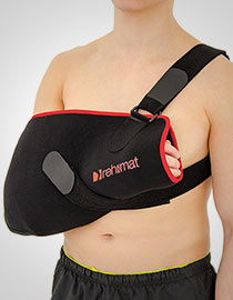 Shoulder sling with exercise ball OKG-06