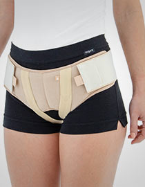 Women's double hernia belt AM-2PP/D