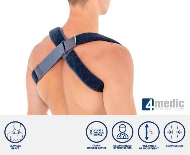 8 figure clavicle brace AM-TX-06