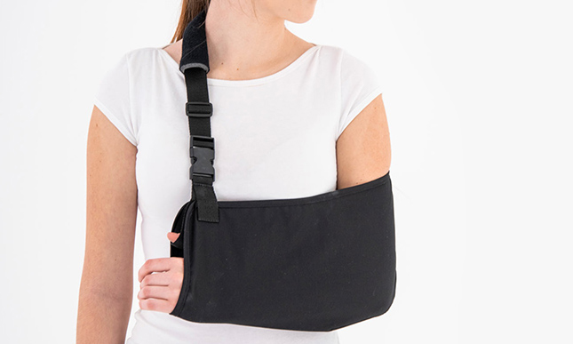 Upper-extremity support AM-SOB-03 BLACK