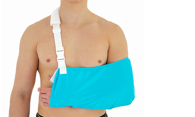 Upper-extremity support AM-SOB-03 BLUE