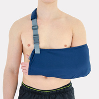 Upper-extremity support AM-SOB-03 NAVY BLUE